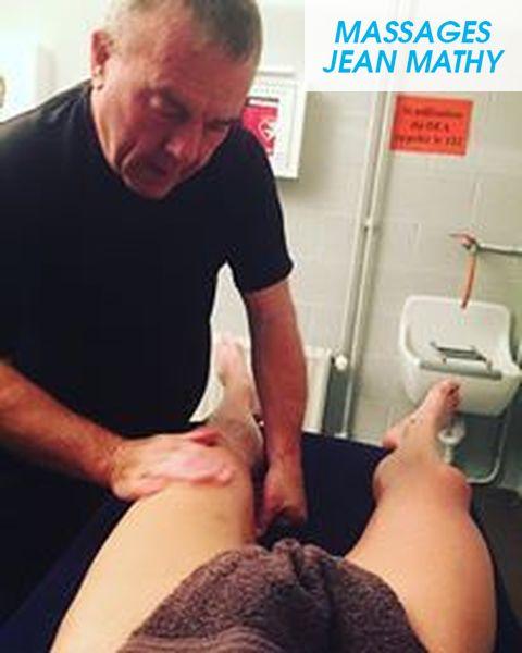 Massage sportif- Massages Jean Mathy